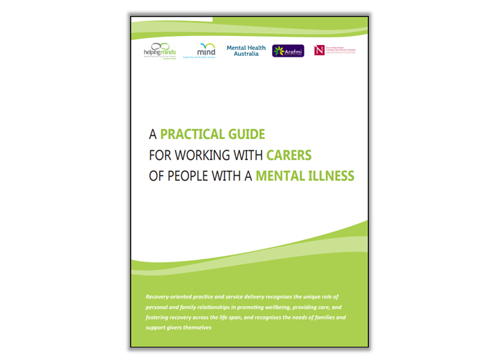 Resource and training opportunity for clinicians engaging with carers