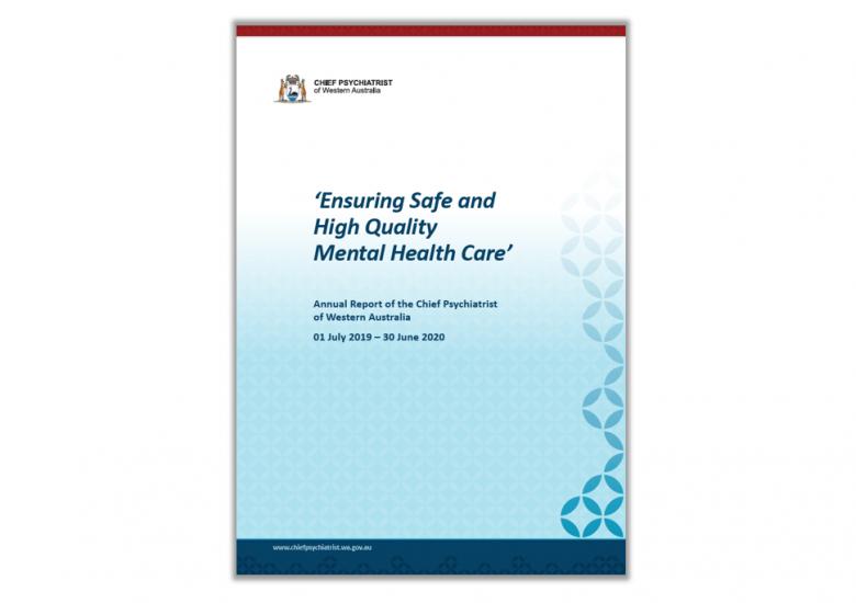 Chief Psychiatrist's Annual Report 2019-2020