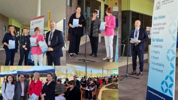 Guidelines to improve sexual safety in mental health services launched at Fiona Stanley Hospital, Mental Health Unit