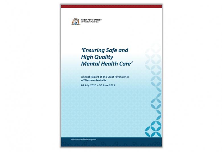 Chief Psychiatrist's Annual Report 2020-21